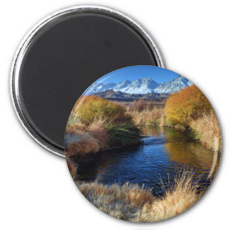 Owens River And Eastern Sierra Nevada Mountains Magnet