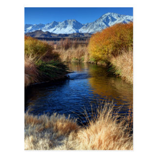 Owens River And Eastern Sierra Nevada Mountains Postcard