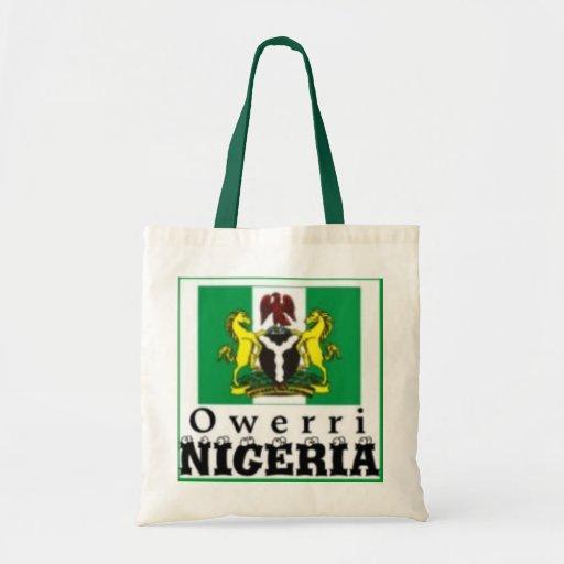 """OWERRI"",IMO STATE, NIGERIA(T-Shirt And etc) Canvas Bag"