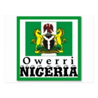 """OWERRI"",IMO STATE, NIGERIA(T-Shirt And etc) Postcard"