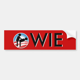 Owie Bumper Sticker
