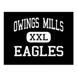 Owings Mills - Eagles - High - Owings Mills Postcard