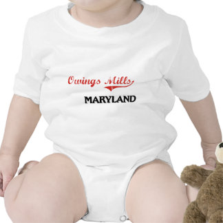 Owings Mills Maryland City Classic Bodysuits