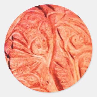 owl2311 classic round sticker