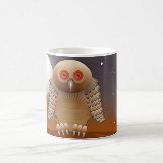 owl 11 oz magic heat Color-Changing coffee mug