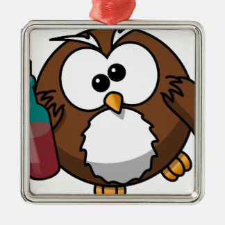 owl-158415.png adorno navideño cuadrado de metal