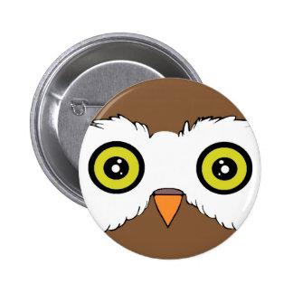 Owl 1 pinback button