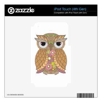 Owl 1 skins for iPod touch 4G