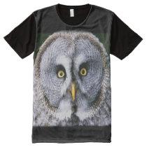 Owl 2 All-Over-Print shirt