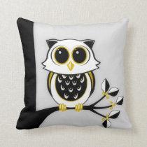 Owl 2 American MoJo Pillows