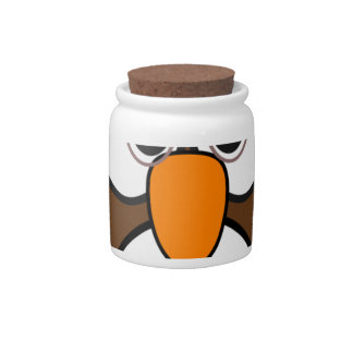 owl #2 candy jars