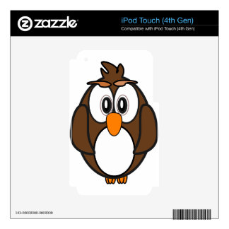owl #2 iPod touch 4G skin