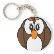 owl #2 keychain