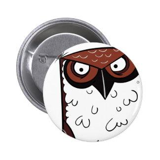 Owl 2 pinback button