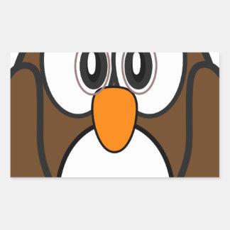 owl #2 rectangular sticker