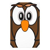 owl #2 stationery