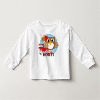 Owl 2nd Birthday T-shirt