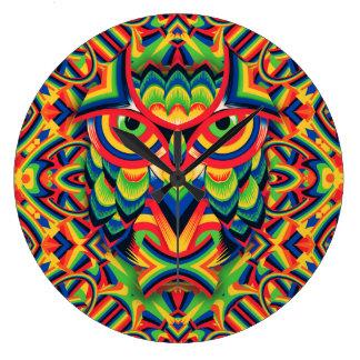 Owl 3 large clock