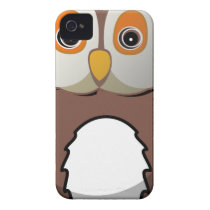Owl #5 iPhone 4 Case-Mate case