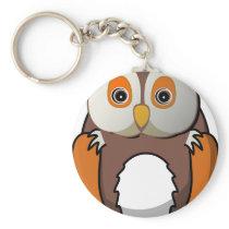 Owl #5 keychain
