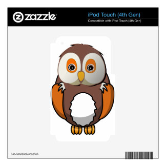 Owl #5 skin for iPod touch 4G