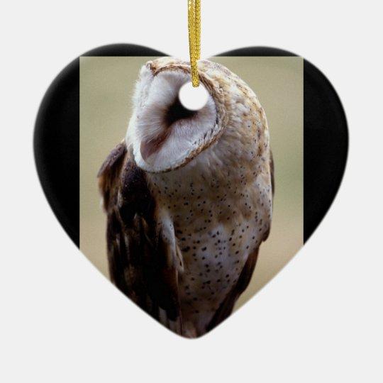 Owl (7) ceramic ornament