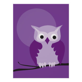 owl 7 print