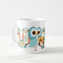 Owl-a-Day Retro Owl Mug