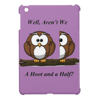Owl A Hoot and a Half iPad Mini Cover