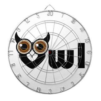 Owl- a symbol of wisdom dartboards
