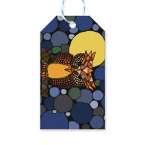 Owl Abstract Art All Purpose Gift Tags