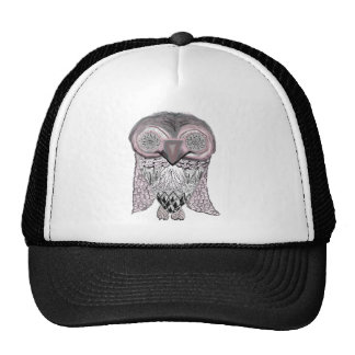 Owl - Abstract Hat