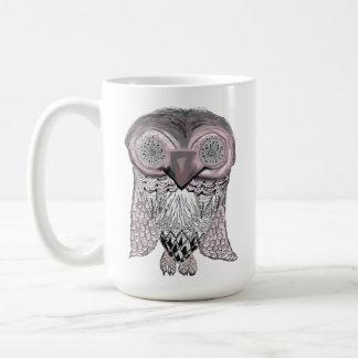 Owl Abstract Mug