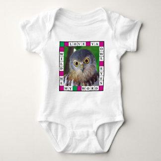 Owl-alishush Baby Bodysuit