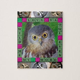 Owl-alishush Jigsaw Puzzle