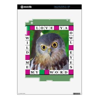 Owl-alishush Skins For iPad 2
