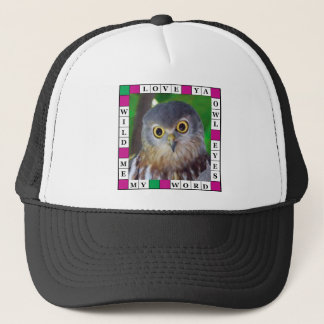 Owl-alishush Trucker Hat