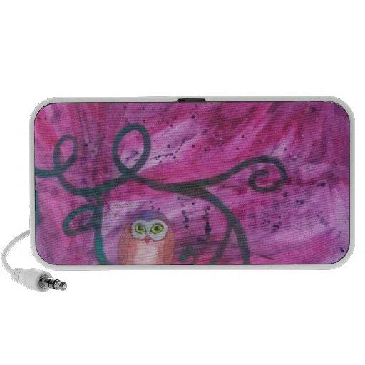 Owl Alone iPod Speaker