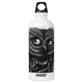 Owl Aluminum Water Bottle