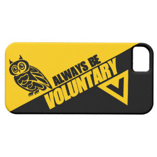 Owl Always Be Voluntary iPhone 5 Cover