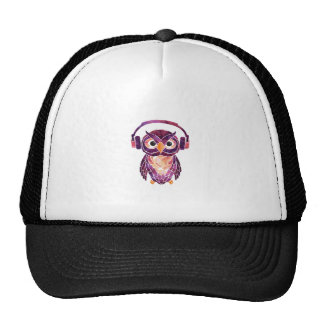 Owl Always love music Trucker Hat
