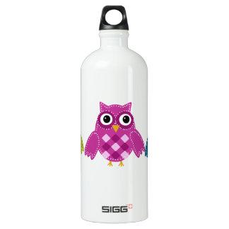 Owl' Always Love You Aluminum Water Bottle
