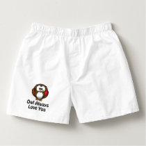 Owl Always Love You Boxers