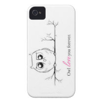 Owl Always Love You Case-Mate iPhone 4 Case