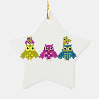 Owl' Always Love You Ceramic Ornament