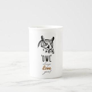 Owl always love you - Custom Name Mug
