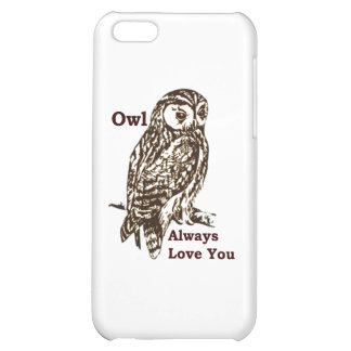 Owl Always Love You iPhone 5C Cover