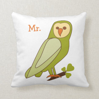 Owl Always Love You Mr. pillow