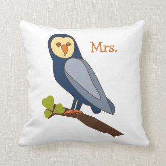 Owl Always Love You Mrs. pillow