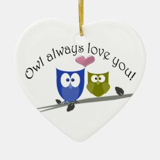 Owl always love you, Ornament